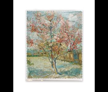 Brillenputztuch ,15x18 cm Rosa Pfirsichbäume, Vincent van Gogh