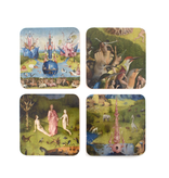 Onderzetters, set van 4 , J. Bosch, Tuin der Lusten
