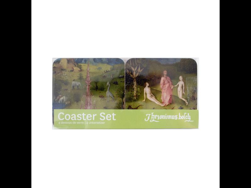 Coasters, set of 4, Jheronimus Bosch , Garden of Earthly Delights