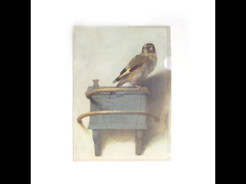 File Sheet W, Fabritius, The Goldfinch