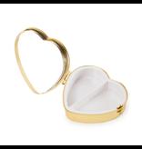 Pillbox heartshape ,Merian, Three tulips