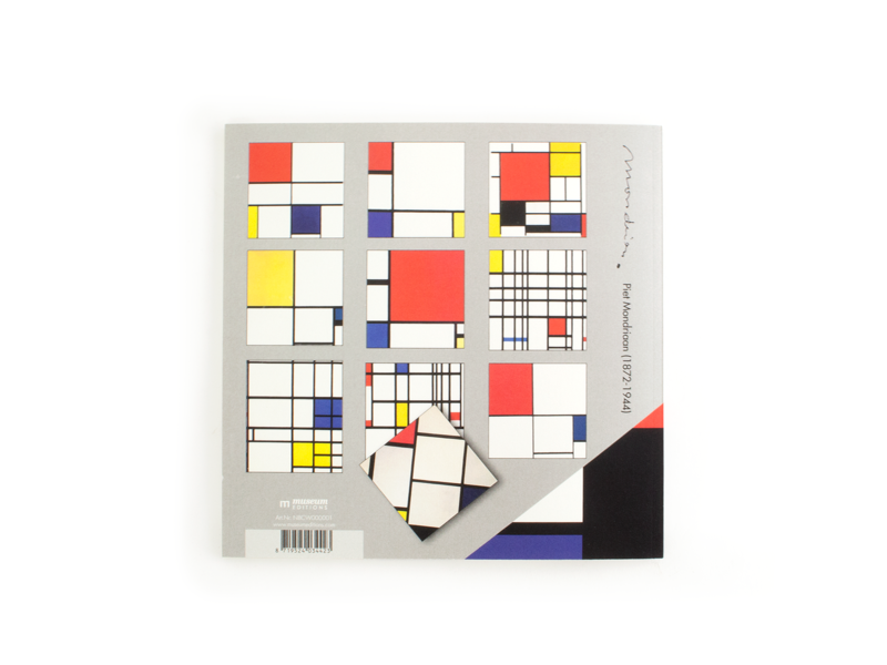 Kleurboek , Compositie, Mondriaan