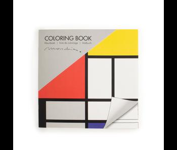 Colouring notebook, Mondriaan