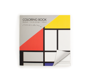 Malbuch , Komposition, Mondrian