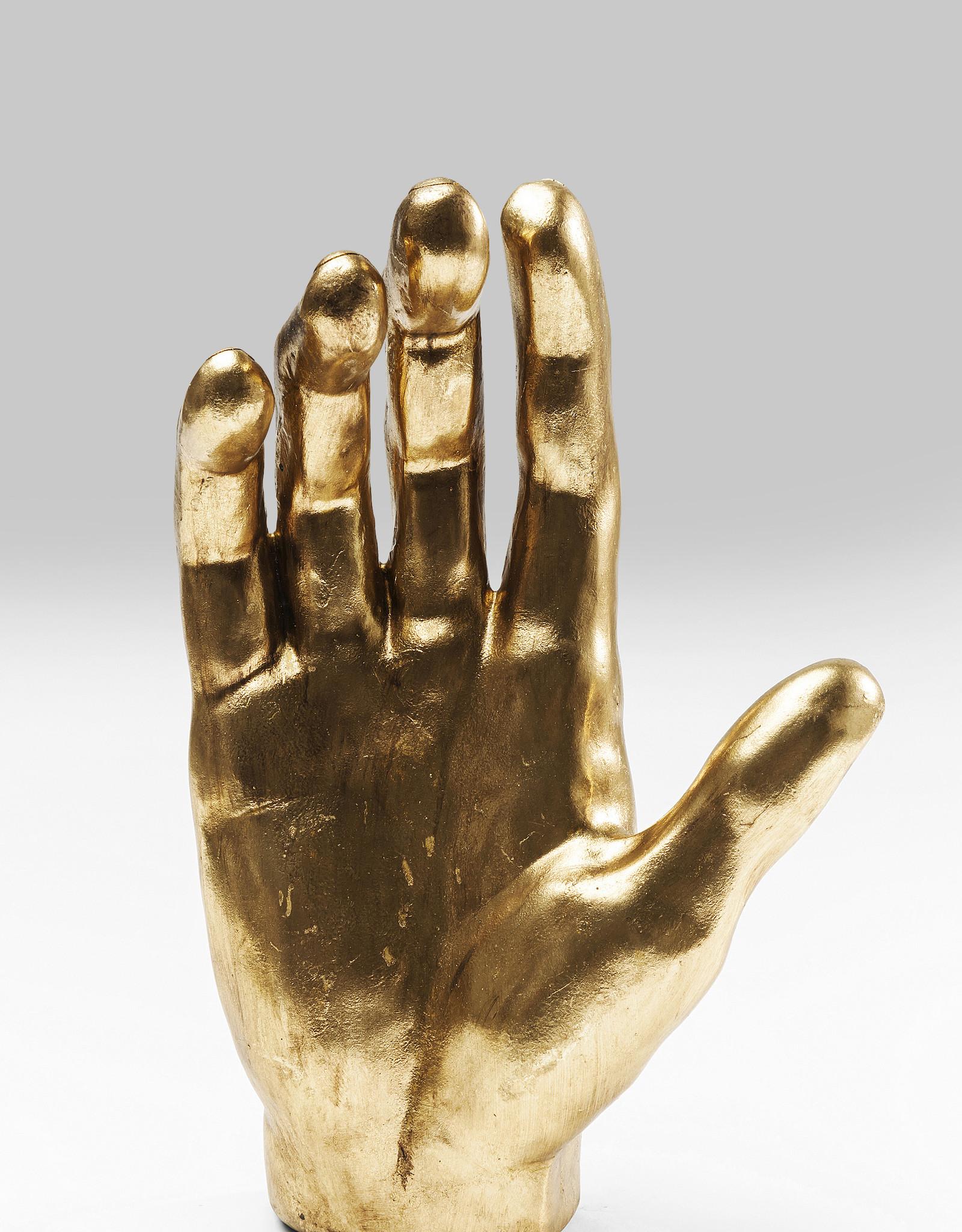 KARE DESIGN Deco Object Mano Gold