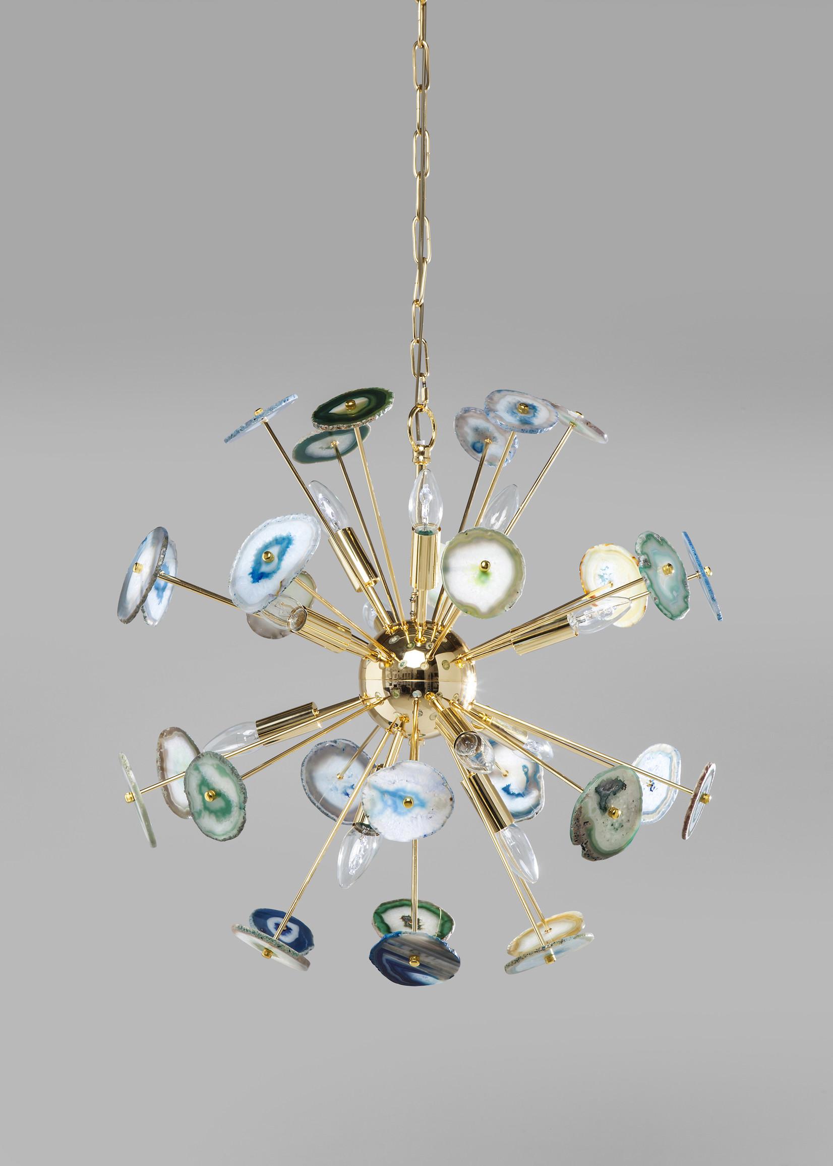 KARE DESIGN Pendant Lamp Chips Colore Brass Ø61cm