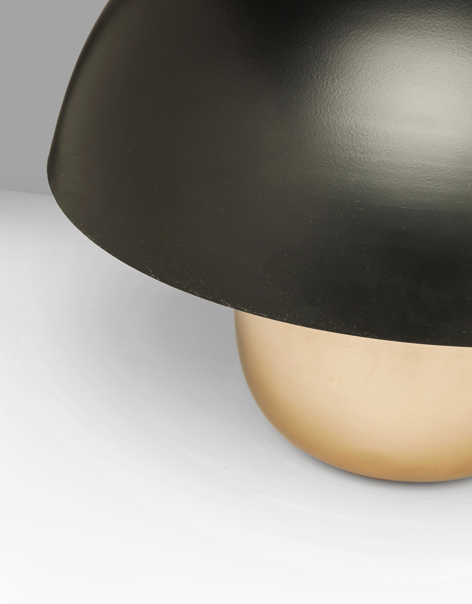 KARE DESIGN Table Lamp Mushroom Copper-Black