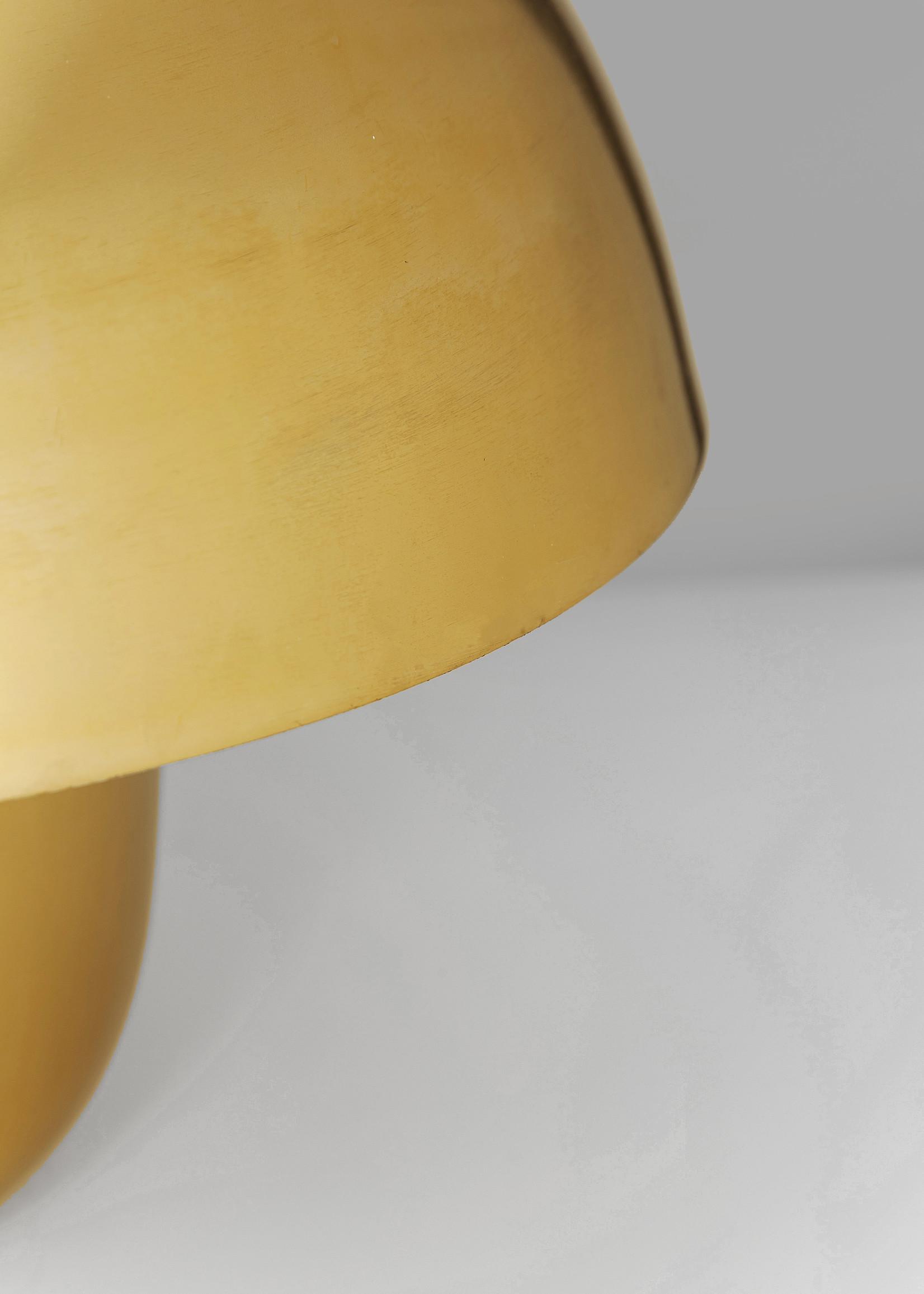KARE DESIGN Table Lamp Mushroom Brass