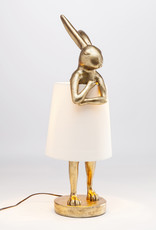 KARE DESIGN Table Lamp Animal Rabbit Gold
