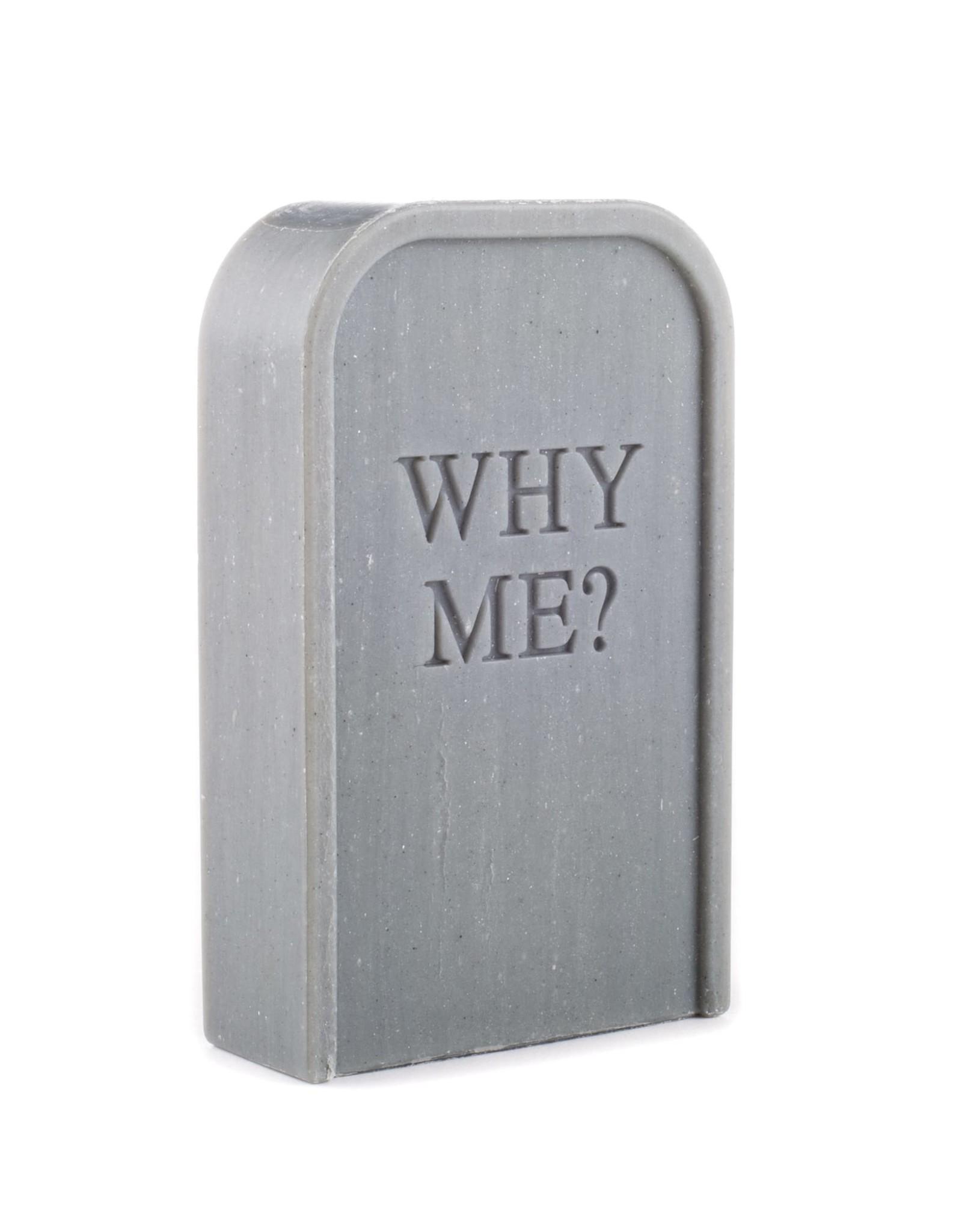 "Seletti ""TOILETPAPER-WHY ME??"" SOAP Cm. 6,9x2,7 h.10,9"