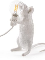 """Seletti """"MOUSE LAMP-STEP""""  - STANDING WHITE"""