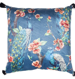 KARE DESIGN Cushion Paradise Peacock 45 x 45 cm