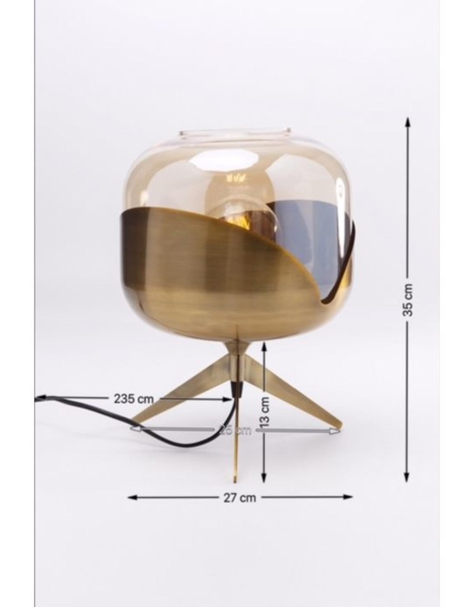 KARE DESIGN Table Lamp Golden Goblet Ball