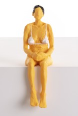 "Seletti ""LOVE IS A VERB-PENELOPE"" RESIN STATUETTE Cm.5,5x7 h.17"