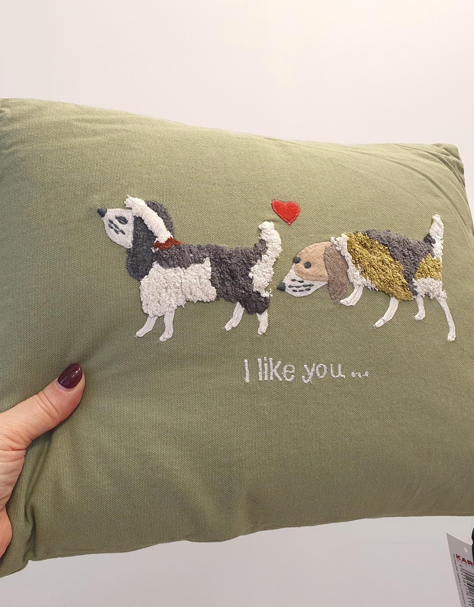 KARE DESIGN Cushion Fairytale Like you 40x30cm