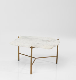 KARE DESIGN Coffee Table Piedra White 76x72cm
