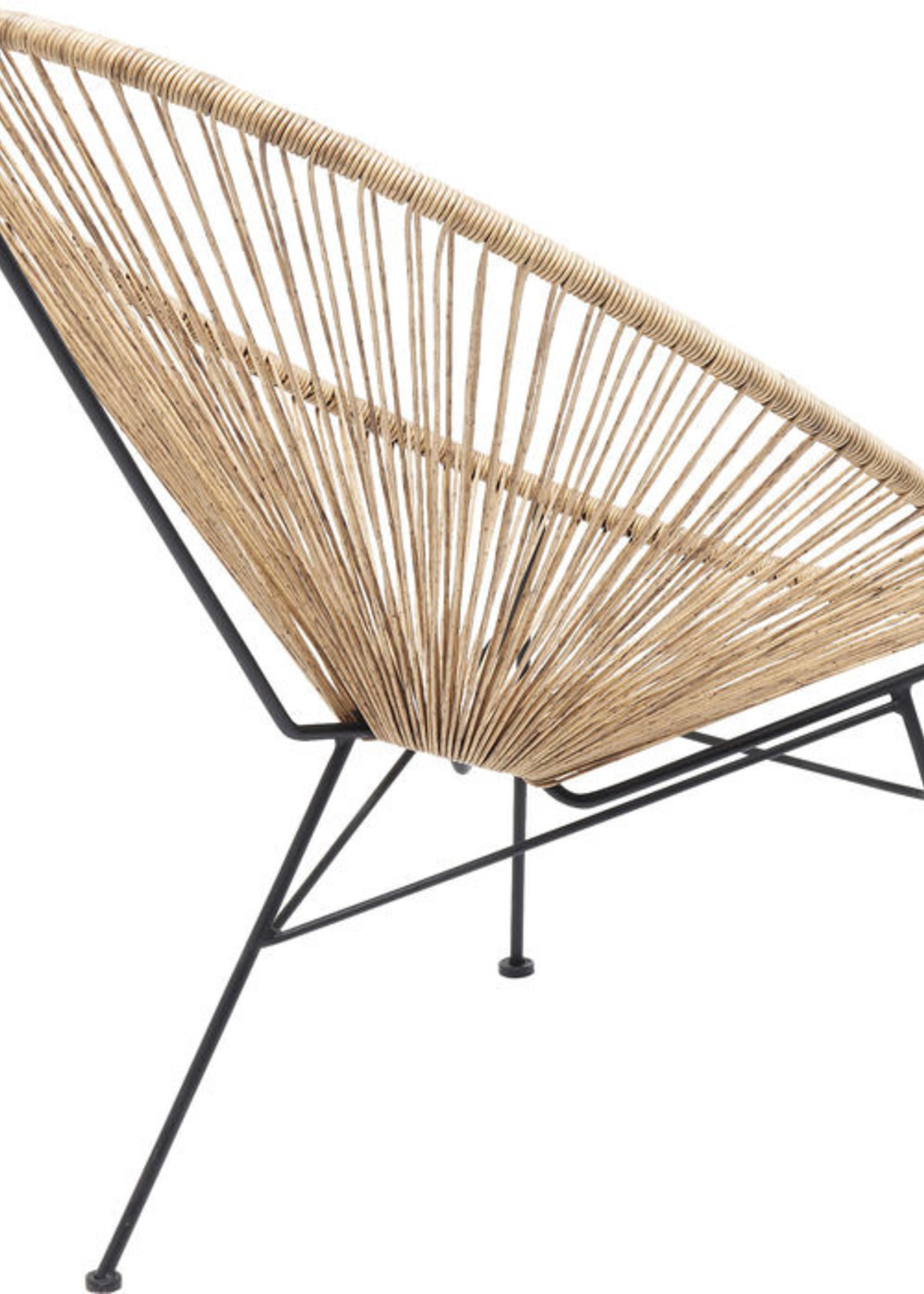 KARE DESIGN Arm Chair Spaghetti Nature