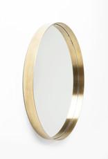 KARE DESIGN Mirror Curve Round Brass Ø60cm