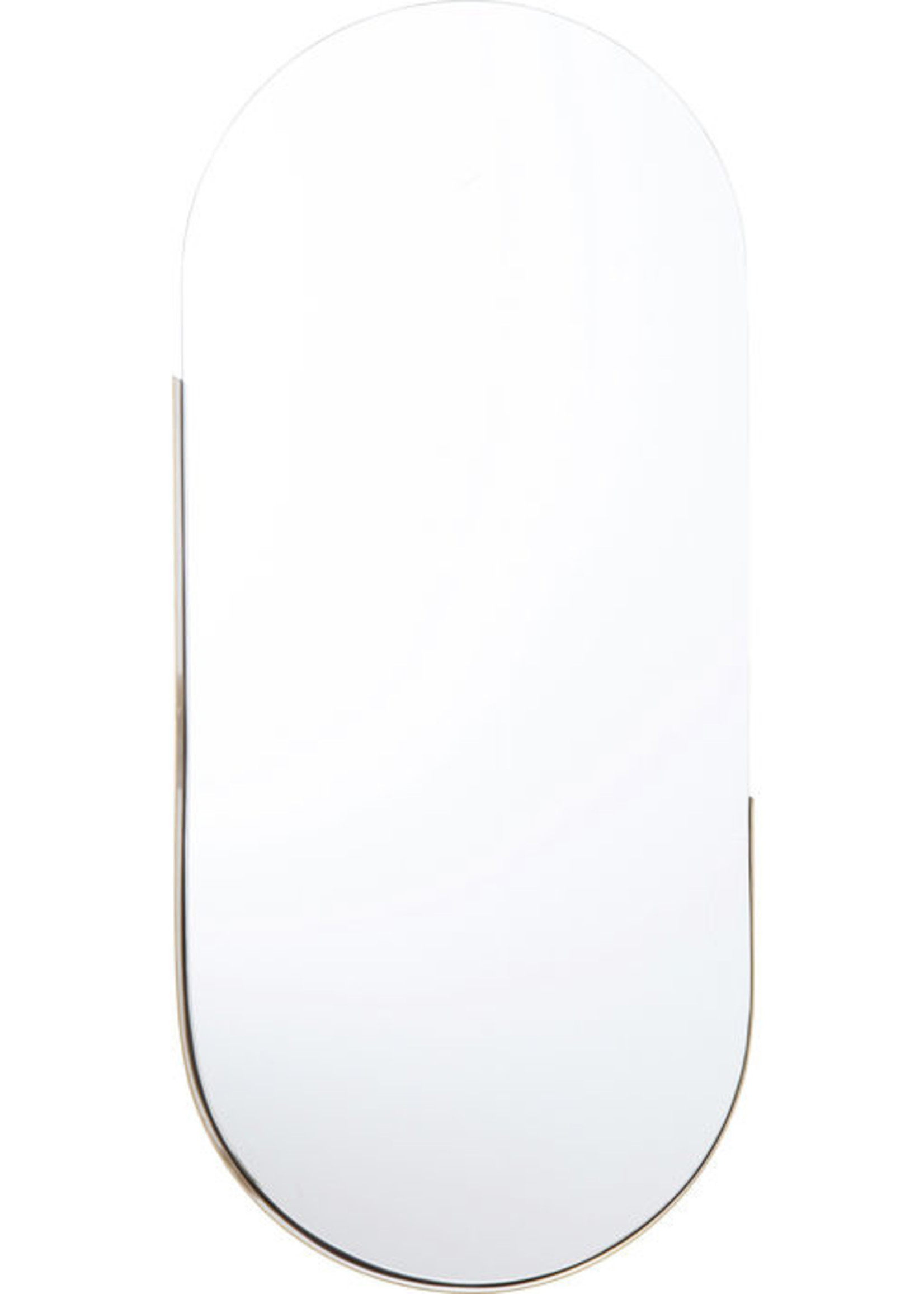 KARE DESIGN Mirror Hipster Oval 114x50cm