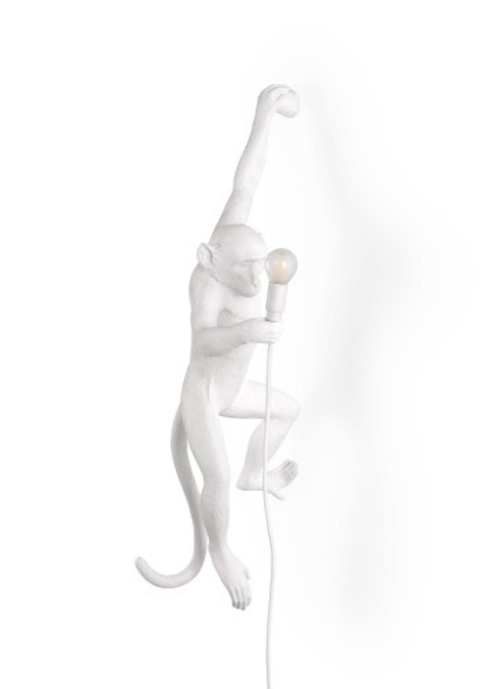 "Seletti ""MONKEY LAMP"" white - HANGING LEFT HAND"