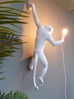 "Seletti ""MONKEY LAMP""  white, hanging"