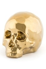 "Seletti PORCELAIN MY SKULL by Seletti ""LIMITED GOLD EDITION"""