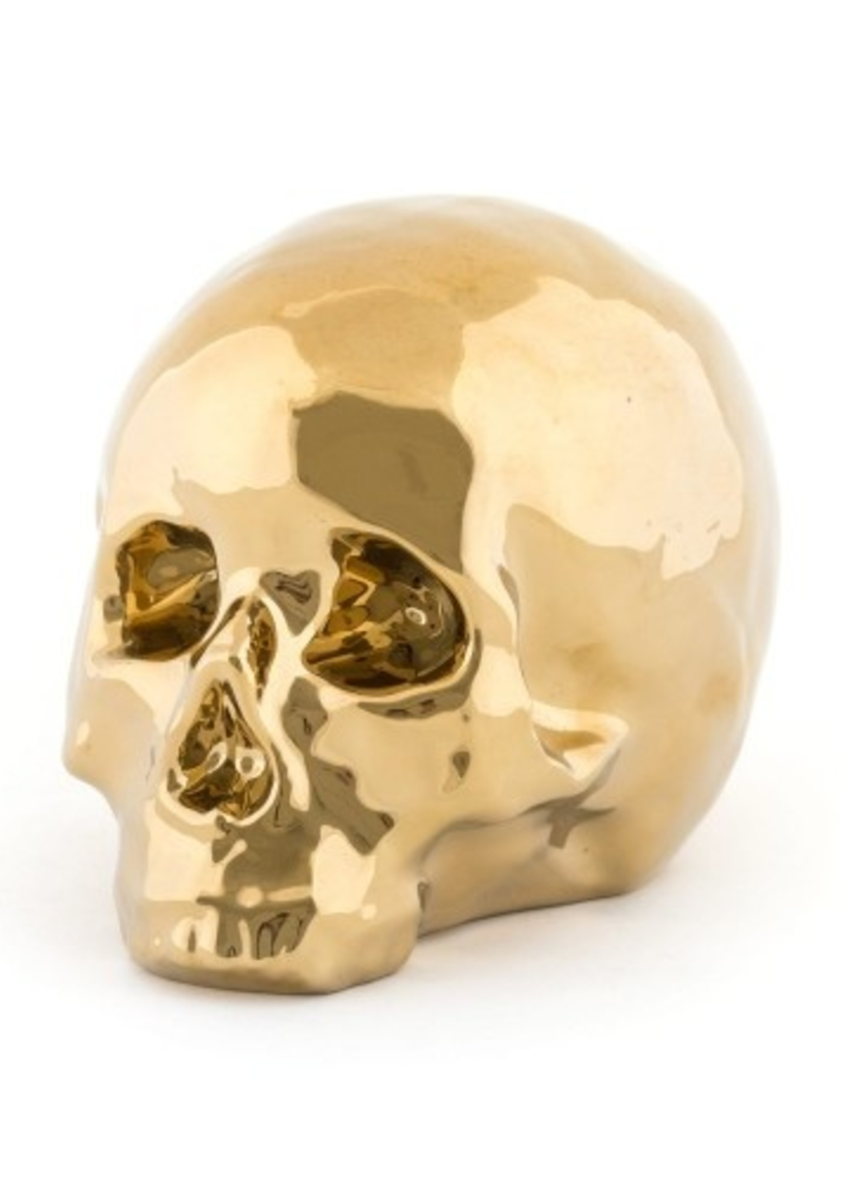 """Seletti PORCELAIN MY SKULL by Seletti """"LIMITED GOLD EDITION"""""""