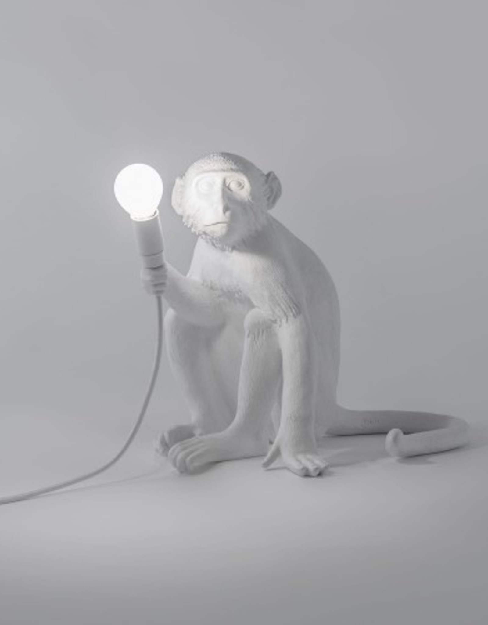 "Seletti ""MONKEY LAMP"" RESIN LAMP Cm.34x30 h.32 - SITTING"