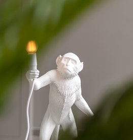 "Seletti ""MONKEY LAMP"" STANDING, WHITE"