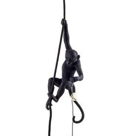 "Seletti ""MONKEY LAMP"" - WITH ROPE - BLACK"