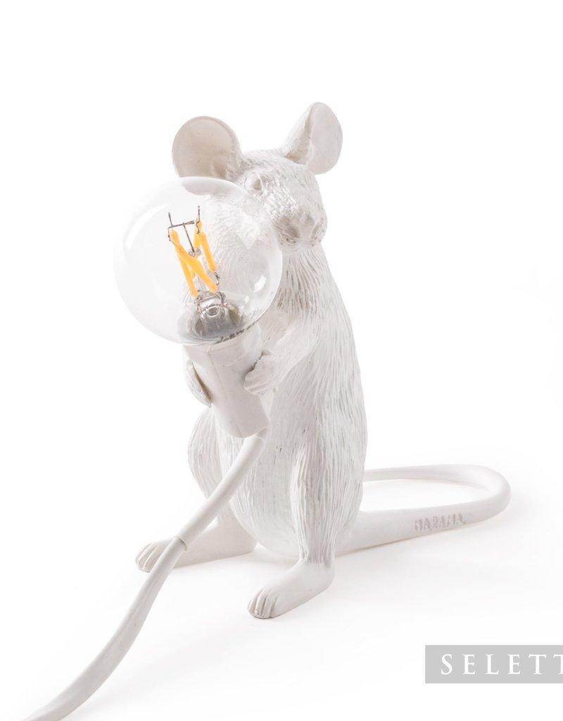 "Selletti ""MOUSE LAMP-MAC"" - SITTING by Seletti"