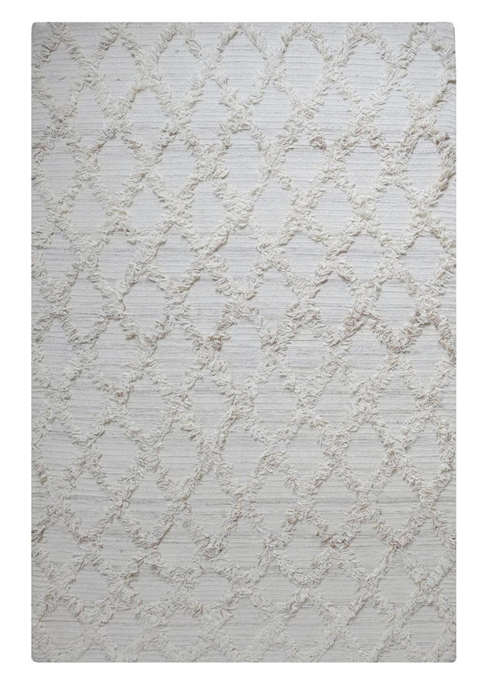 Handgeweven wollen vloerkleed Jucar, 160 x 230 cm