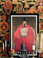 MINDTHEGAP ANCESTOR PORTRAIT, 80x120cm, framed print