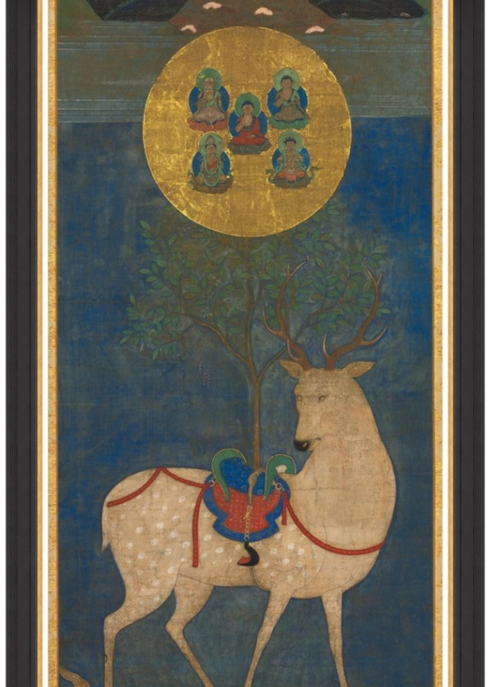 MINDTHEGAP KASUGA MANDALA 70x150 cm, framed print