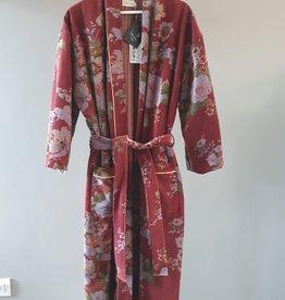BANGALORE Kimono velours TERRACOTTA