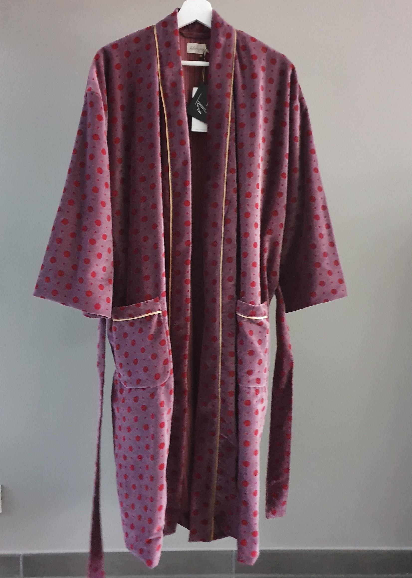 MUMBAI Kimono Velours LILAS