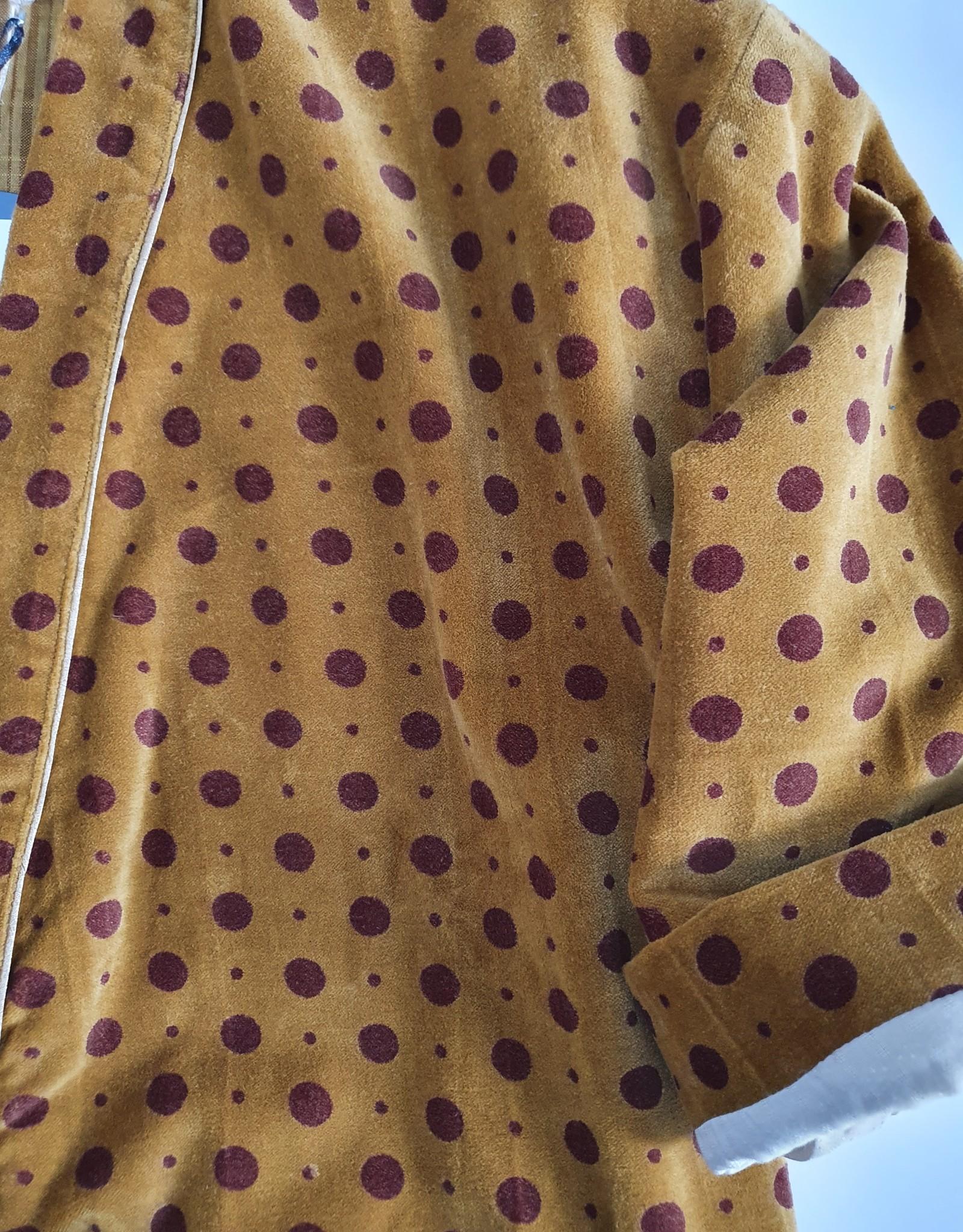 MUMBAI Kimono Velours CURRY
