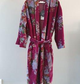 BANGALORE Kimono velours RUBIS