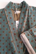 MUMBAI Kimono Velours OLIVE