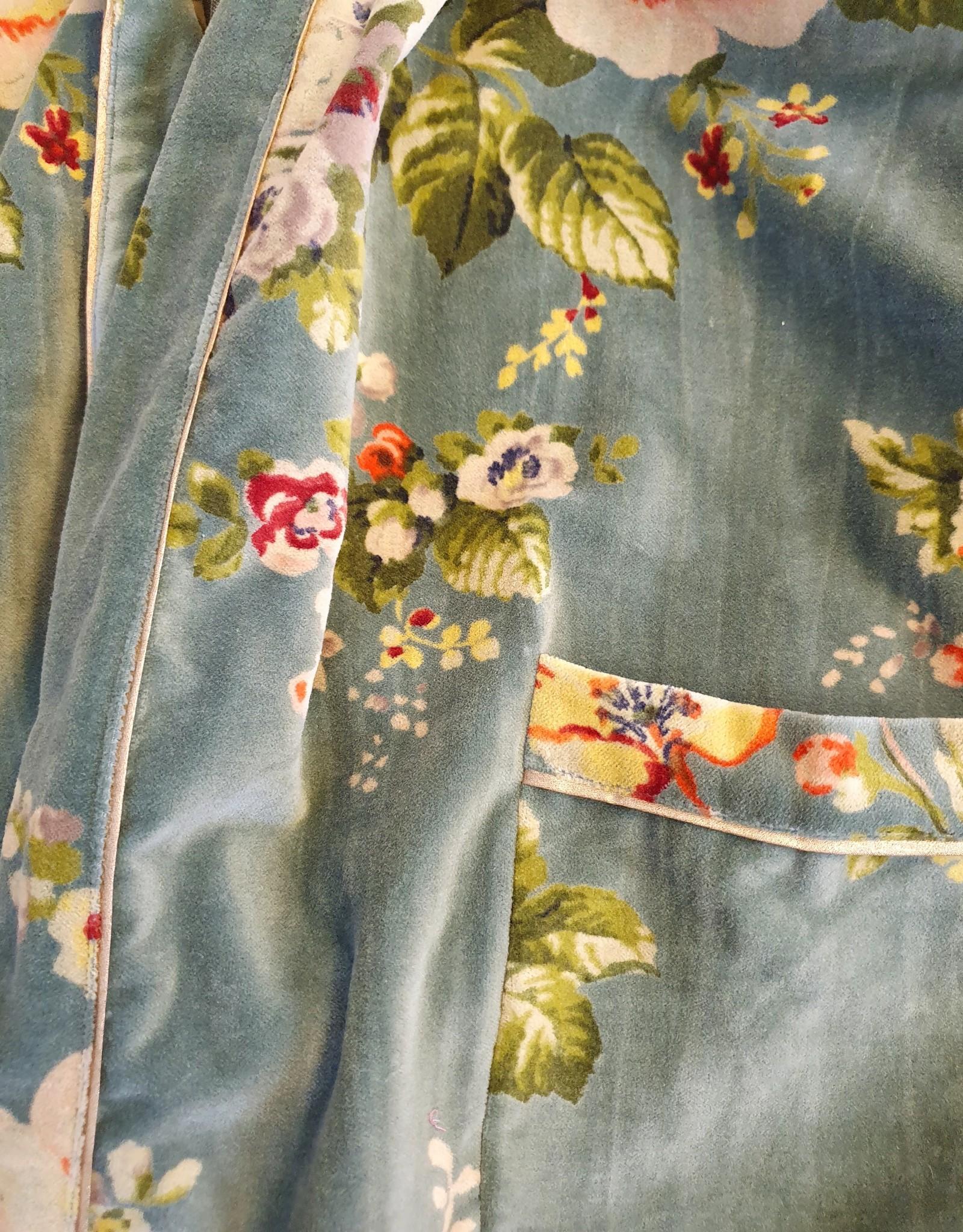 BANGALORE Kimono velours JADE