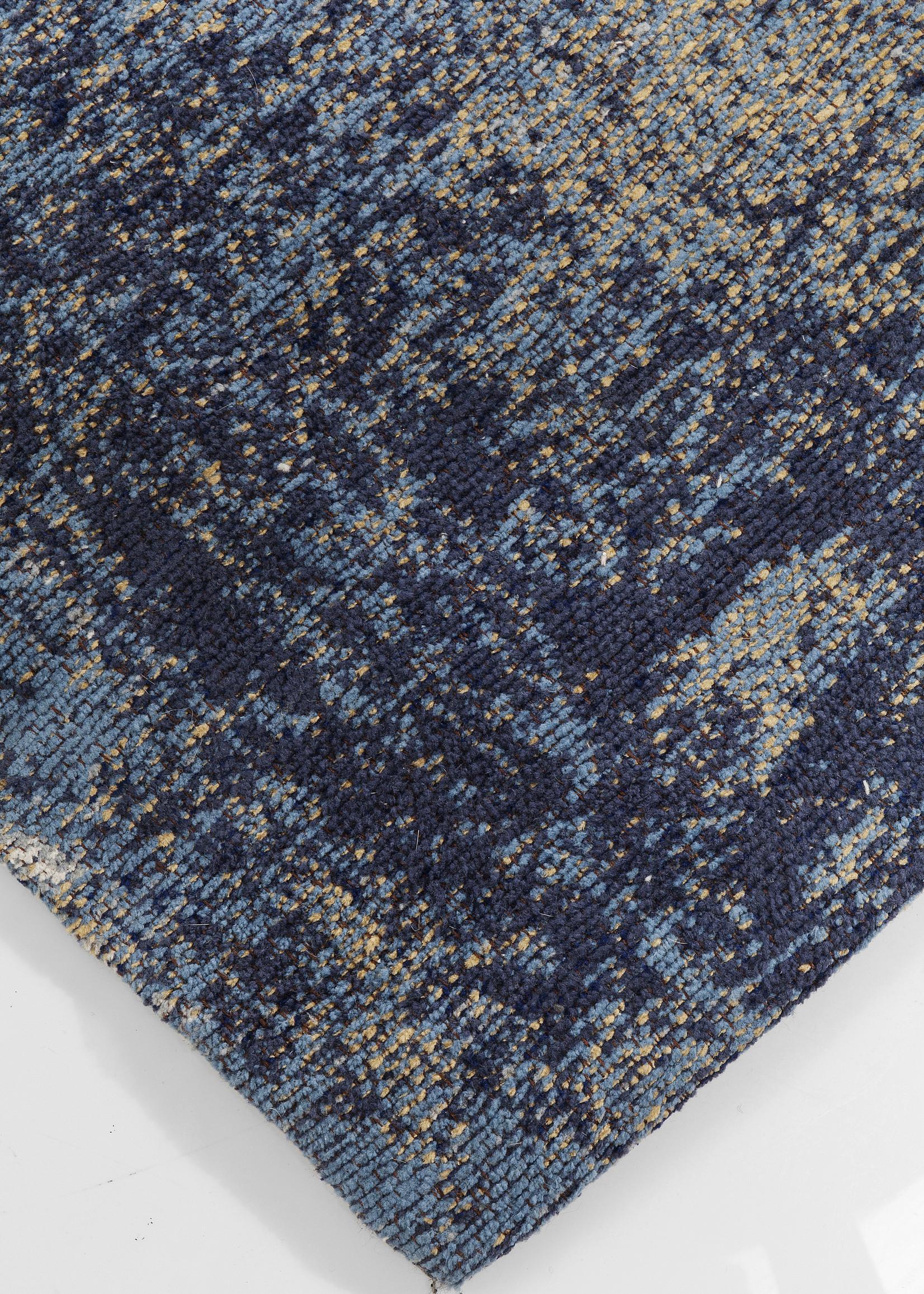 KARE DESIGN Carpet Abstract Dark Blue 240x170cm