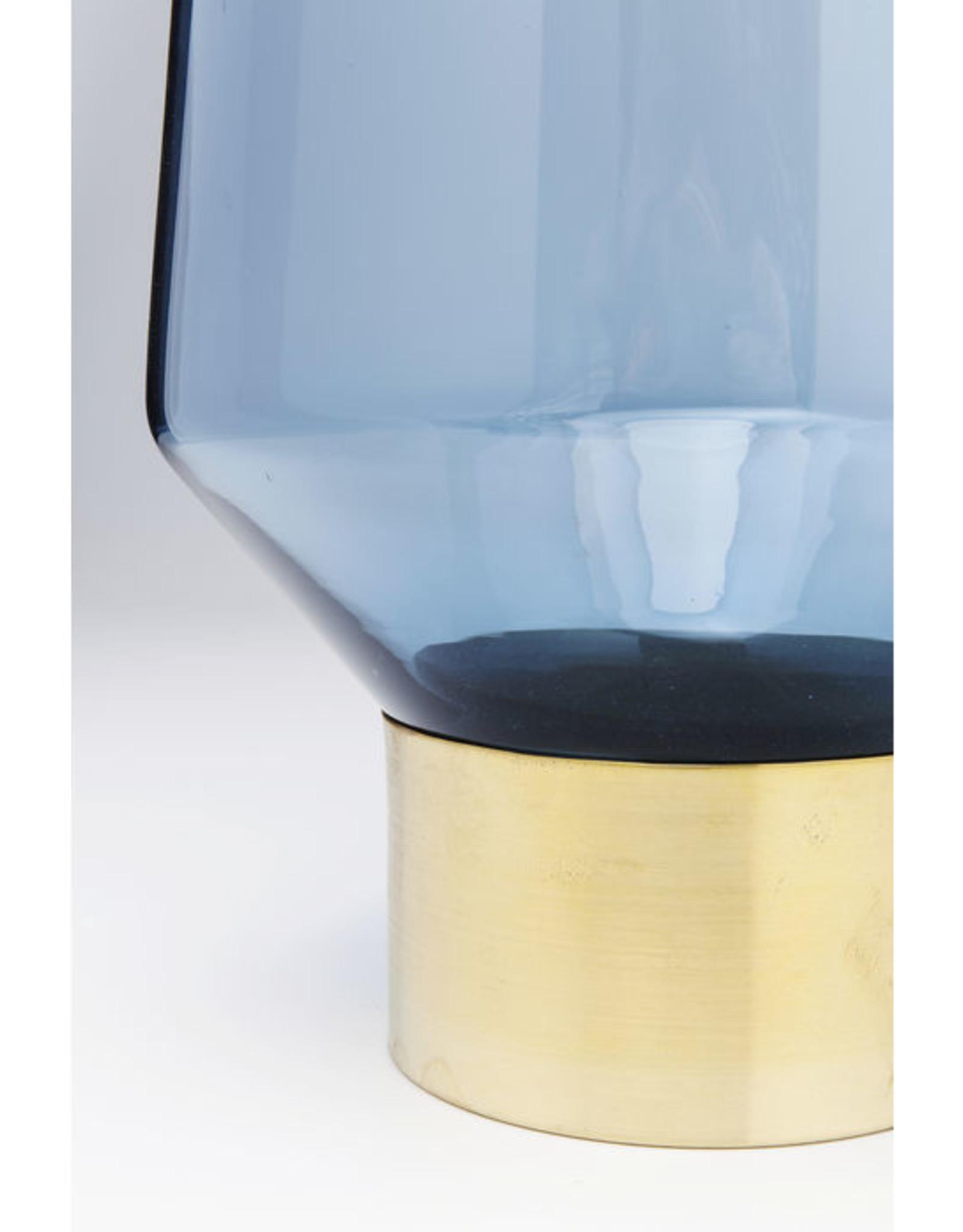 KARE DESIGN Vase Noble Ring Blue 60cm
