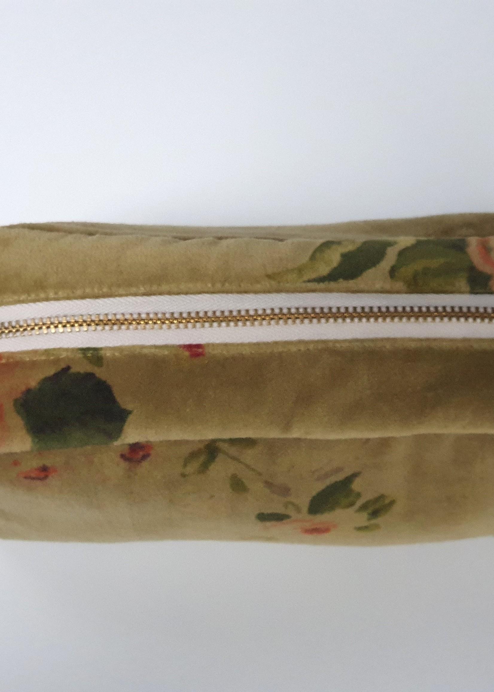 BANGALORE Toilet bag 21X15X10 cm, CURRY