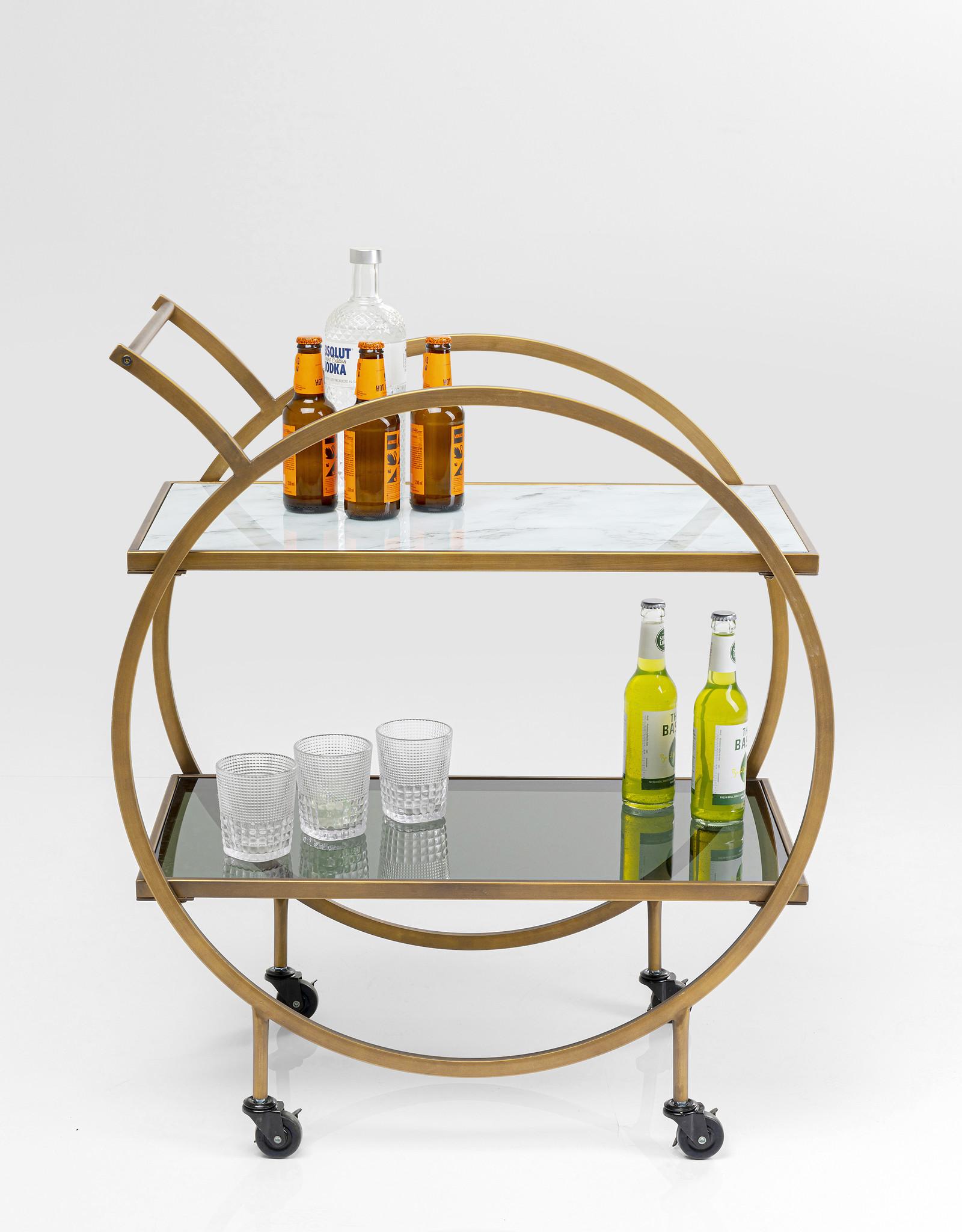 KARE DESIGN Tray Table Loft Brass