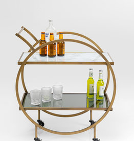 KARE DESIGN Tray Table Loft Brass
