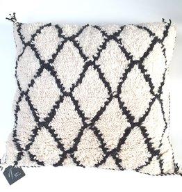 Diamond: berber kussen Marokko, 100% wol, handgemaakt