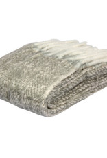 EIGHTMOOD Lucy, Throw, 130x150 cm, Taupe, Fringes