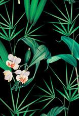 MINDTHEGAP Designer Wallpaper PALM SPRINGS Anthracite