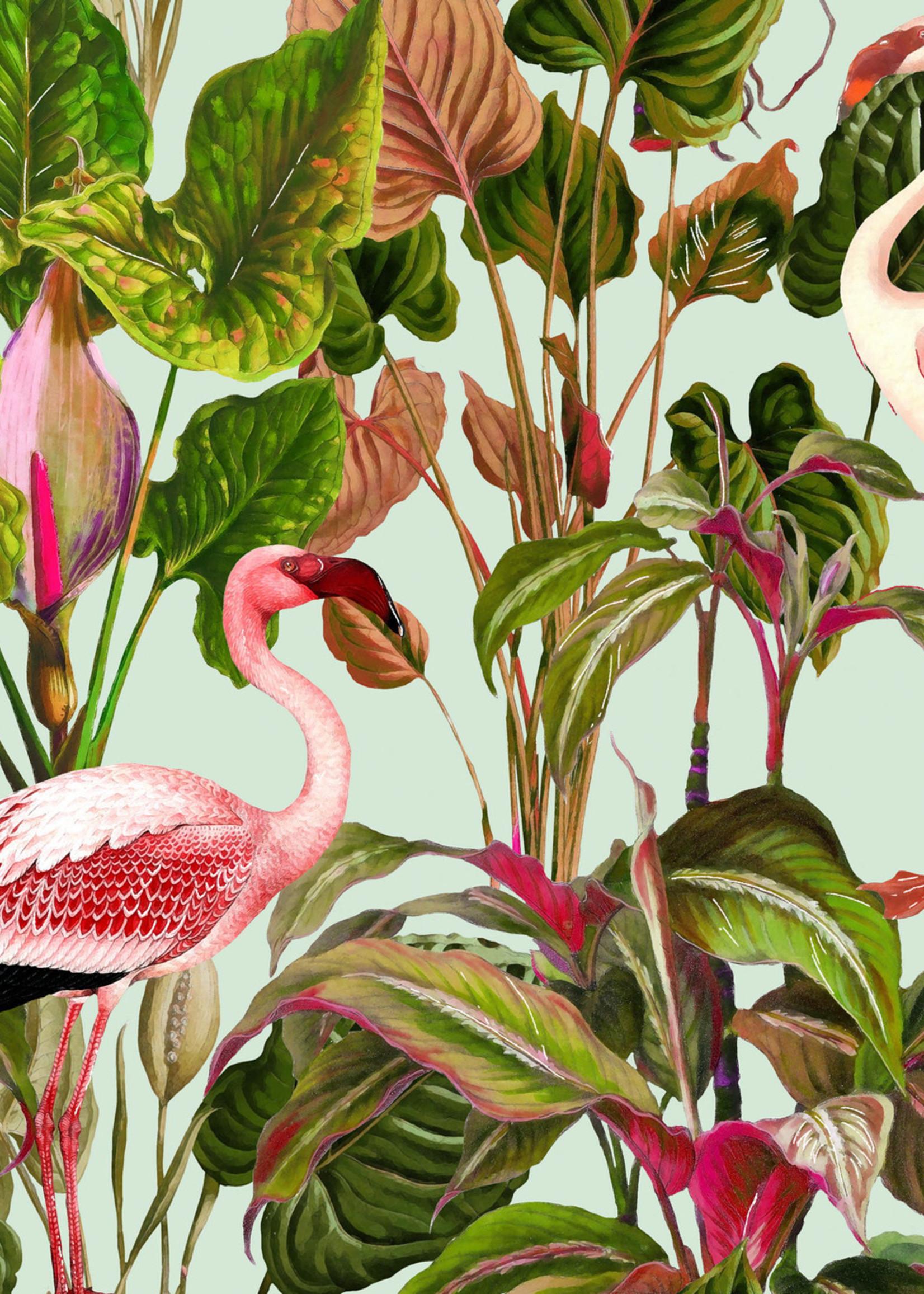 MINDTHEGAP Designer Wallpaper BEVERLY HILLS Mint