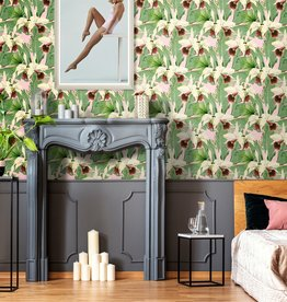 MINDTHEGAP Designer Wallpaper TREASURE ISLAND Pink